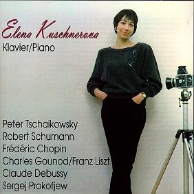 Listen to Elena Kuschnerova on Piano in streaming MP3 Audio